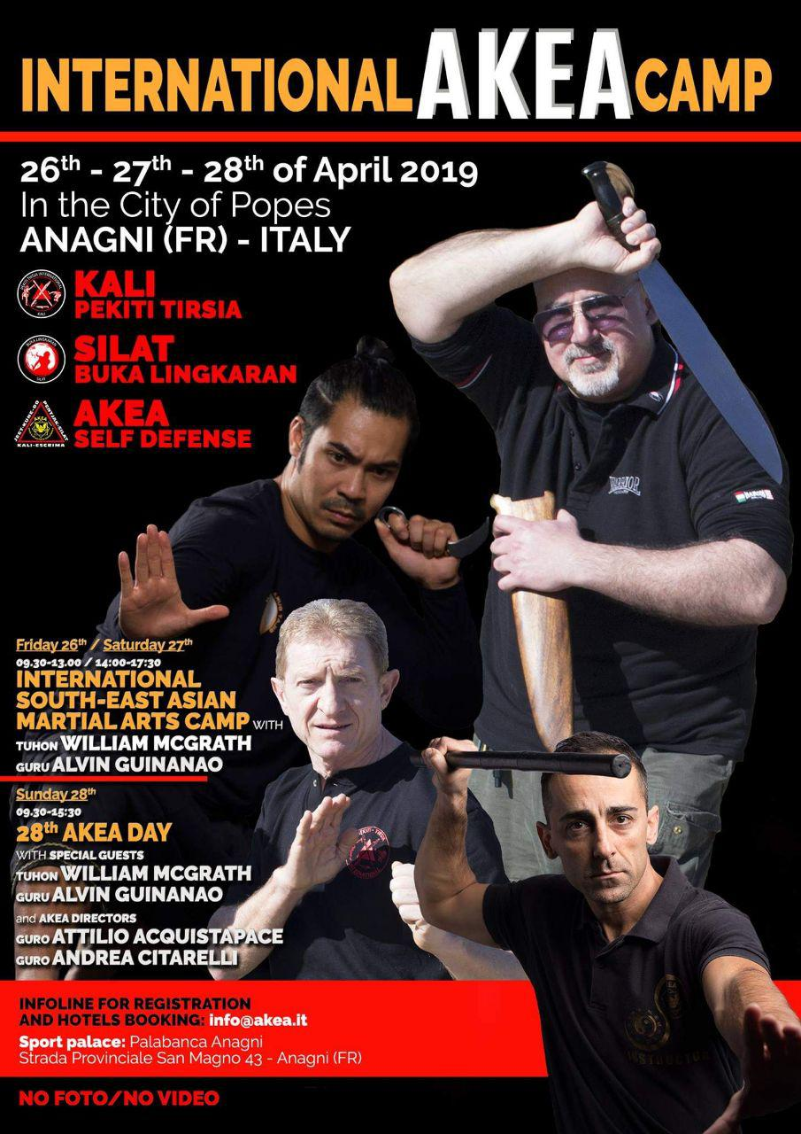 INTERNATIONAL AKEA CAMP - 2019 @ Palabanca Anagni